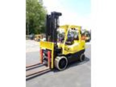 2013 LP Gas Hyster S135FT Cushion Tire 4 Wheel Sit Down Indoor Warehouse