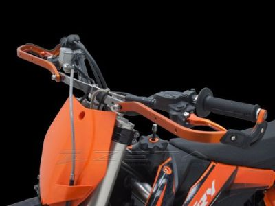 Sell Zeta PRO Armor Handguards for KTM / Husky Hand Guard Shields w/ Top Clamp Mounts motorcycle in Sugar Grove, Pennsylvania, United States, for US $139.00