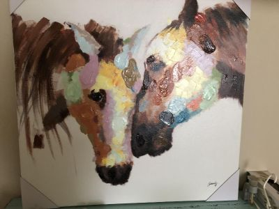 Brand new Horse Canvas Painting