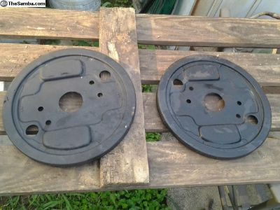 Old O.G Early VW Split Bus Front Backing Plates