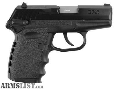 "For Sale: SCCY CPX-1 Gen 2 DAO 9mm 3.1"" 10+1 Zytel Grip Black Nitrate Carbon Steel Thumb Safety UPC: 857679003005"