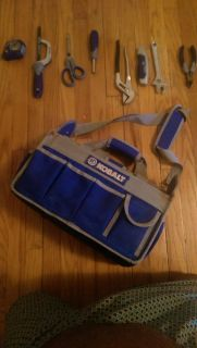Kobalt tools with matching carrying bag