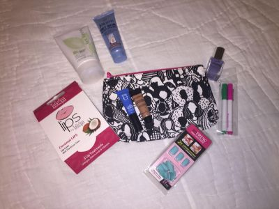 Makeup LOT NEW Ipsy items (jergens & MK mask have been used lots left,2 coconut lips)$5 for all