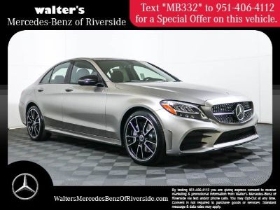 2019 Mercedes-Benz C-Class C 300 (Mojave Silver M)