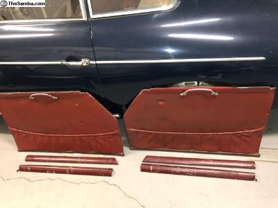 T2 Porsche 356 MINT Original Panels & Doortops