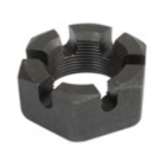 Black 46mm Axle Nut, Each