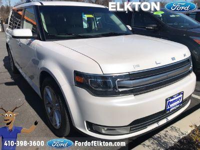 2017 Ford Flex Limited (white)