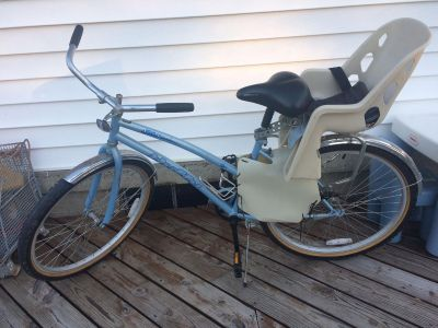 Huffy Women's Bicycle with Child seat