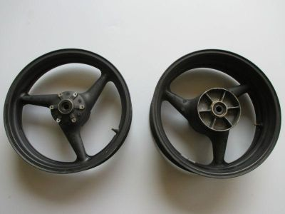 Purchase 2001-2006 HONDA CBR 600 F4i FRONT REAR PAIR WHEELS WHEEL RIMS RIM motorcycle in Cedar Springs, Michigan, US, for US $395.12