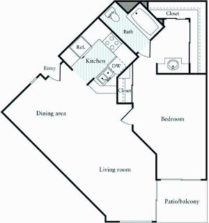 1 bedroom in Verdugo Viejo