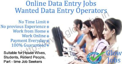 -Computer based job part time home based in data entry work No Target