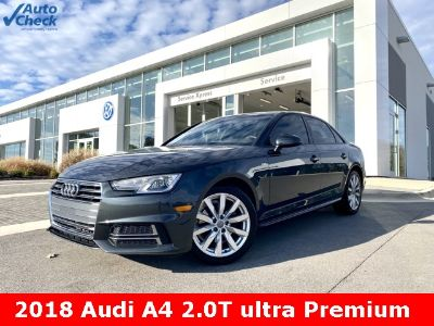 2018 Audi A4 2.0T (Manhattan Gray Metallic)