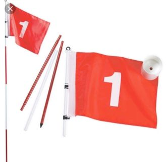 Top Flite Golf Putting Cup Flag Pole Set. New in open Box. Porch Pick up Available. Staples Mill at 295.