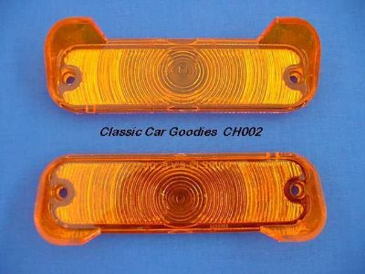 Sell 1965 Chevy Chevelle Amber Park Light Lenses. New Pair! motorcycle in Aurora, Colorado, US, for US $14.99