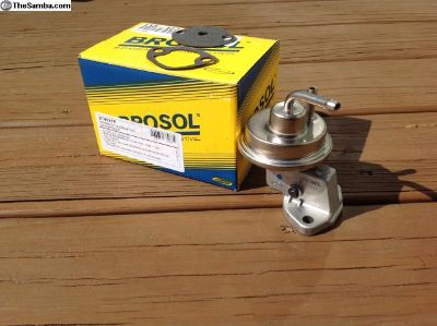 Brosol fuel pump, 1300-1600 Beetle,Bus w/generator