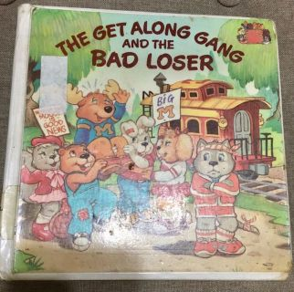 Vintage The Get Along Gang And The Bad Loser
