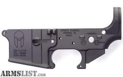 For Sale: Spike's (Spartan) stripped lower receiver
