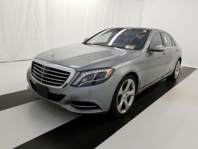 2015 Mercedes-Benz S-Class S550 4MATIC (designo Magno Alanite Gray (Matte Finish)