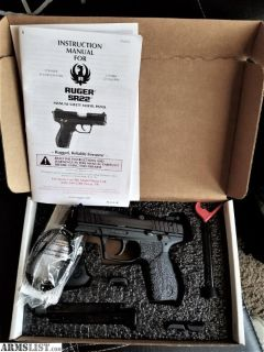 For Sale: Ruger SR22 - Brand new, Unfired with 3 mags