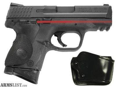 For Sale: SMITH AND WESSON M&P COMPACT W/ CTC LASER