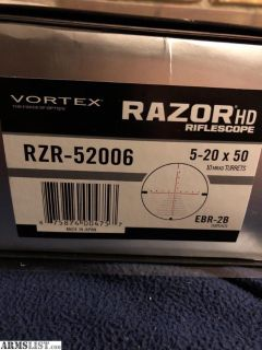 For Trade: Vortex Razoe 5-20x50