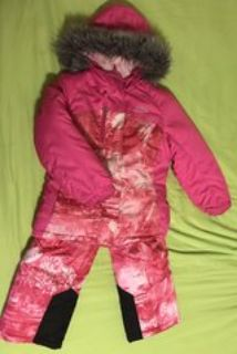 girls winter coat and snow pants