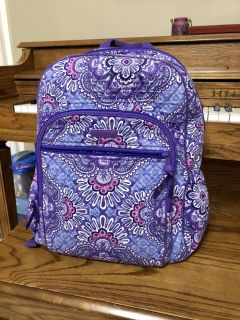 Gorgeous Vera Bradley Backpack & Computer Compartment. Used but in Great Condition! X Posted. PPU