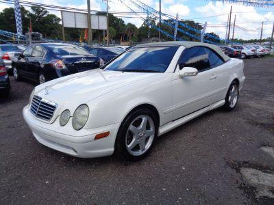 2002 Mercedes-Benz CLK-Class CLK430 (White)