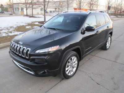 2016 Jeep Cherokee Limited 4x4 4dr SUV