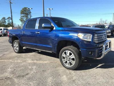 2014 Toyota Tundra Platinum (Blue Ribbon Metallic)