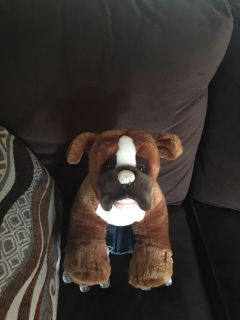 Bull dog build a bear C/P No Holds