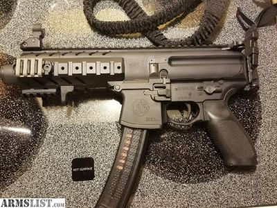 For Trade: Sig MPX 9mm 3 30rd mags ect....