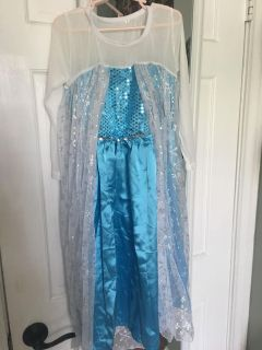 Elsa NEW costume, just needs to be ironed!