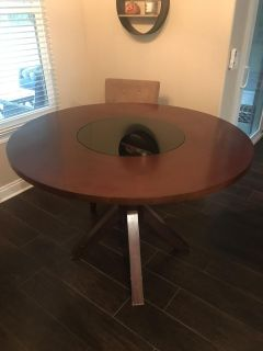 $100 FIRM. Table and chairs