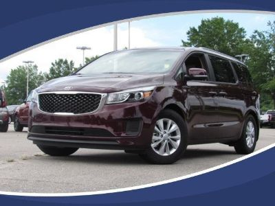 2018 Kia Sedona (RED)