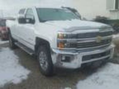 Salvage 2016 CHEVROLET SILVERADO LTZ for Sale