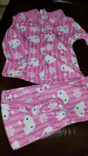 Hello kitty pjs toddler 3t guc
