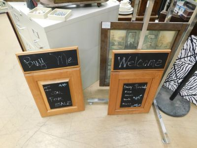 Assorted Custom made Chalkboards