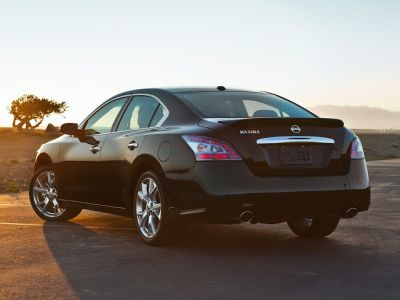 2012 Nissan Maxima 3.5 S (Super Black)