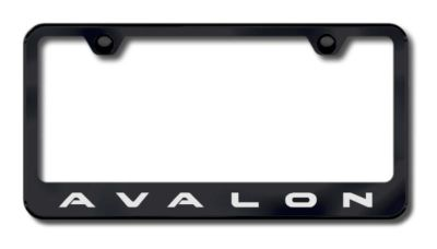 Buy Toyota Avalon Laser Etched License Plate Frame-Black Made in USA Genuine motorcycle in San Tan Valley, Arizona, US, for US $34.49
