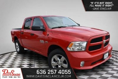 2018 RAM RSX Tradesman (Flame Red Clearcoat - Red)