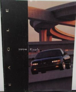 Sell 1994 Jeep Eagle Vision Talon Summit Color Sales Brochure Original motorcycle in Holts Summit, Missouri, United States