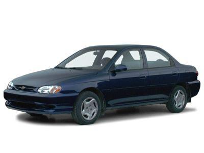 2000 Kia Sephia Base (Violet Mist)