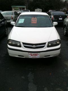 2005 Chevrolet Impala Base (White)