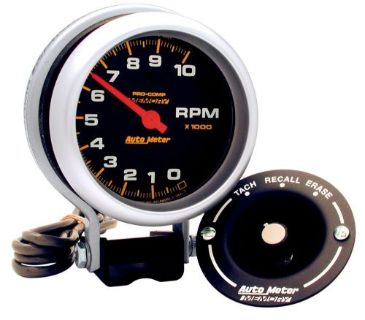 Purchase Auto Meter 6601 Pro-Comp Memory 3 inch Pedestal Tach 0-10,000 RPM w/Memory motorcycle in Santee, California, United States, for US $310.99