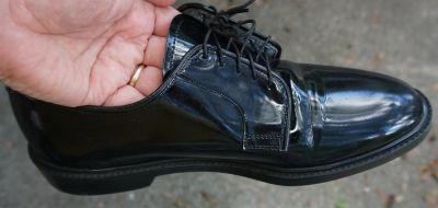 Army Dress Shoes, maker Capps, size 10D