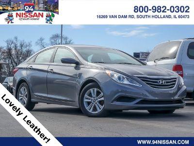 2013 Hyundai Sonata Limited (Harbor Gray Metallic)