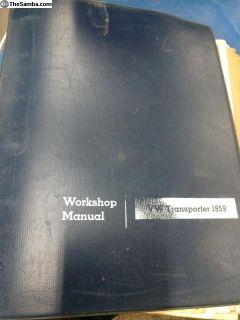 VW transporter shop manual