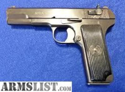 Want To Buy: m70a 9mm