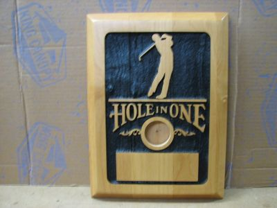 Hole-in-One Plaque
